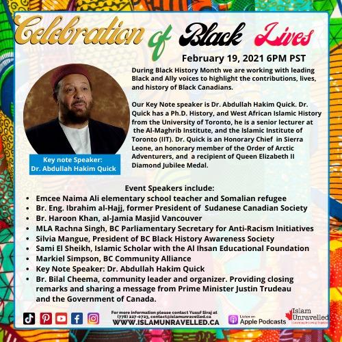 Celebration of Black Lives and Great Accomplishments