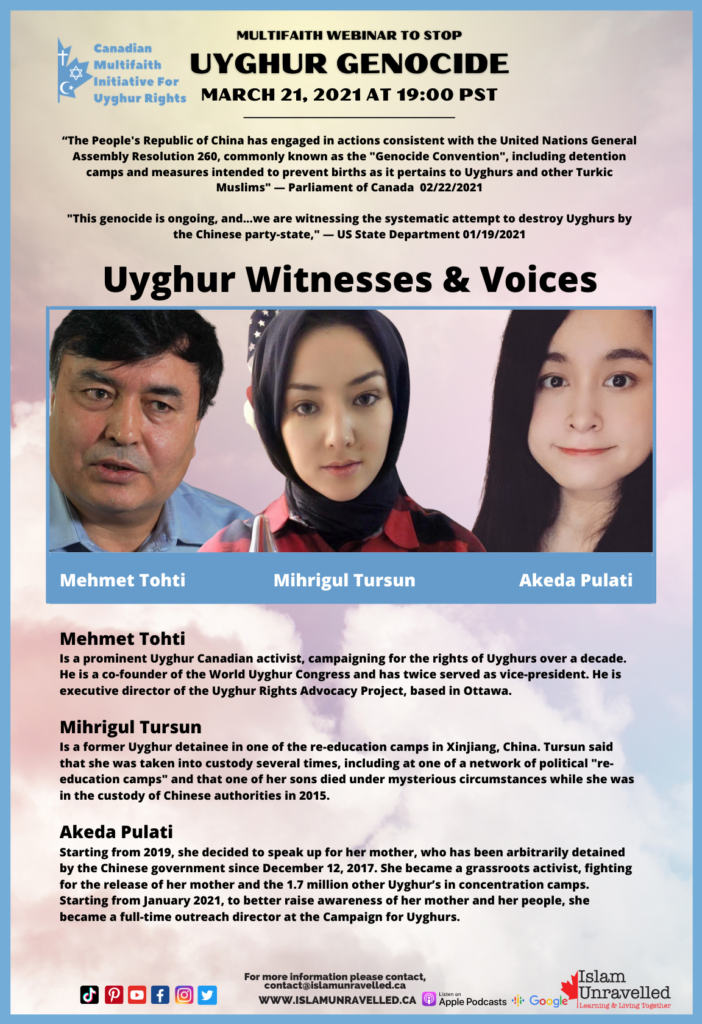 Canadian Multifaith Initiative for Uyghur Rights